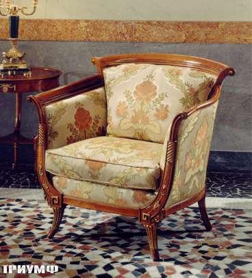 Итальянская мебель Colombo Mobili - Кресло арт.274.Р кол. Vivaldi