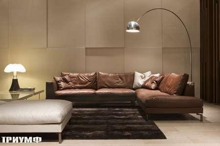 Итальянская мебель Rivolta - диван Manhattan угловой