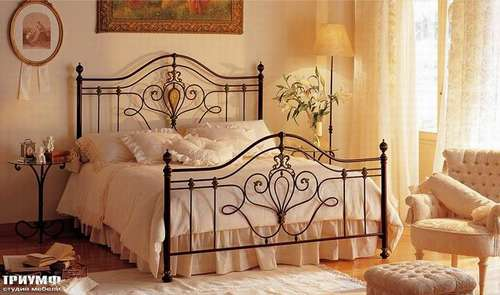Итальянская мебель Giusti Portos - Классическая кованая спальня Lorenz