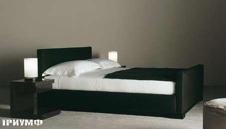 Итальянская мебель Meridiani - кровать Bergman