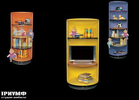 Итальянская мебель Il Loft - шкаф cilindri baby