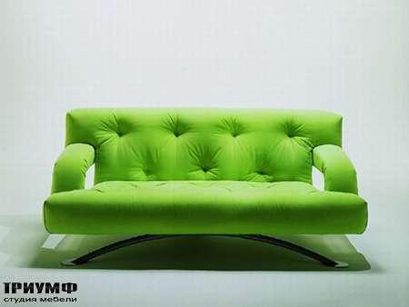 Итальянская мебель Futura - Диван стеганный раскладной, Soft