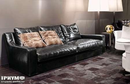 Итальянская мебель Love Luxe (Longhi) - Диван кожаный Baron