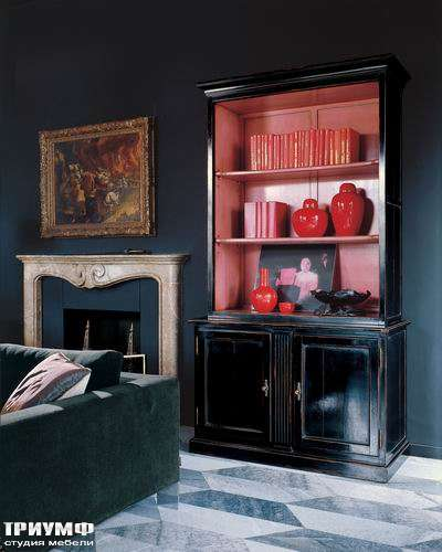 Итальянская мебель Salda - Книжный шкаф COD- 8523
