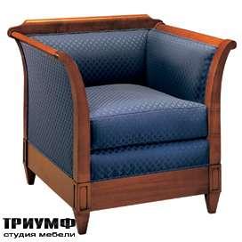 Итальянская мебель Morelato - Кресло с деревянным основанием