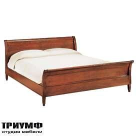 Итальянская мебель Morelato - Кровать с изголовьем и изножием