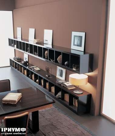 Итальянская мебель Annibale Colombo - Pensili книжные полки