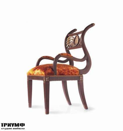 Итальянская мебель Jumbo Collection - Стул с гнутой спинкой коллекция Sheraton