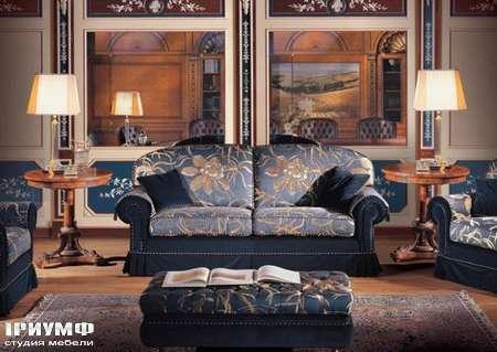Итальянская мебель Ezio Bellotti - Диван 3-х местный в ткани, коллекция 1950