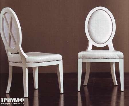 Итальянская мебель Rugiano - Стул Alina дерево, кожа