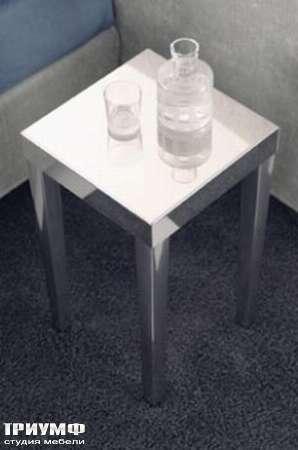 Итальянская мебель Orizzonti - столик White высокий