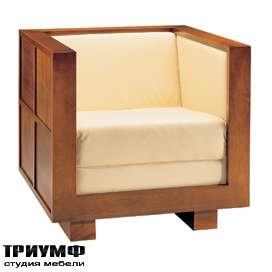 Итальянская мебель Morelato - Кресло в деревянном каркасе
