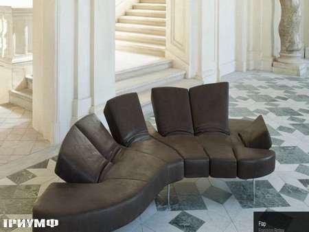 Итальянская мебель Edra - диван Flap