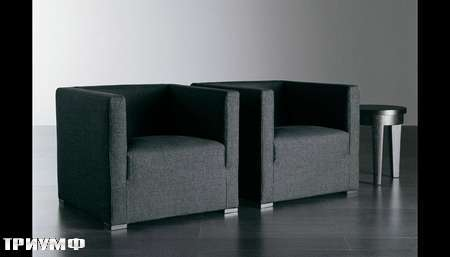 Итальянская мебель Meridiani - Кресло Belmondo4 в ткани