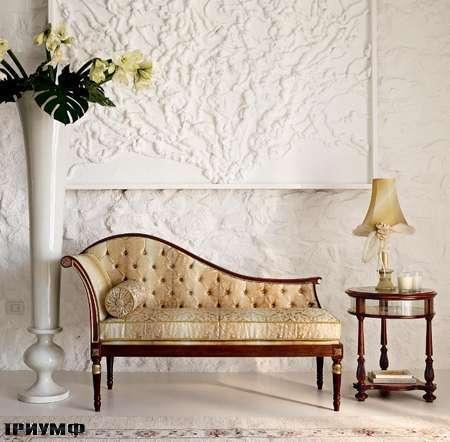Итальянская мебель Volpi - лежанка Doria capitonne
