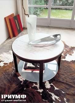 Итальянская мебель Longhi - стол журнальный moka