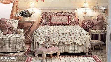 Итальянская мебель Halley - Кроватка, коллекция butterfly
