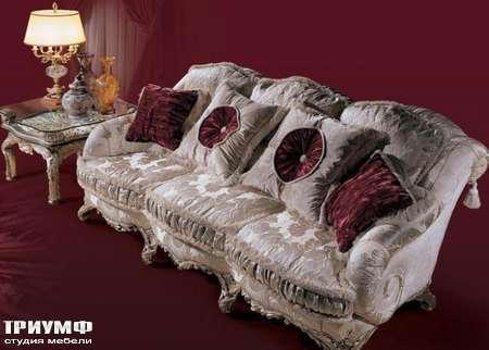 Итальянская мебель Ezio Bellotti - Диван с декоративными подушками