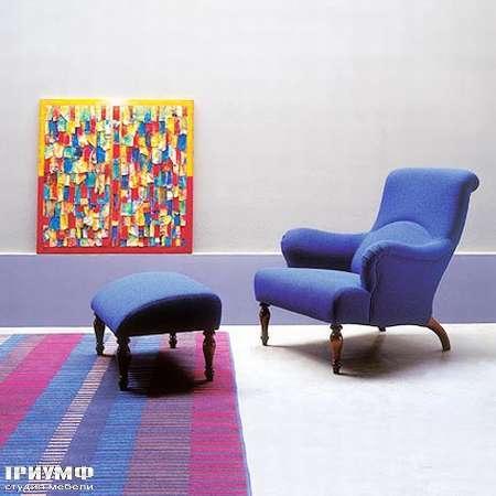 Итальянская мебель Medea - Кресло арт. 550, пуф арт. 549