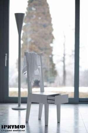 Итальянская мебель Orizzonti - стул с ящиком для хранения вещей Moheli