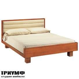Итальянская мебель Morelato - Кровать на рифленых ножках