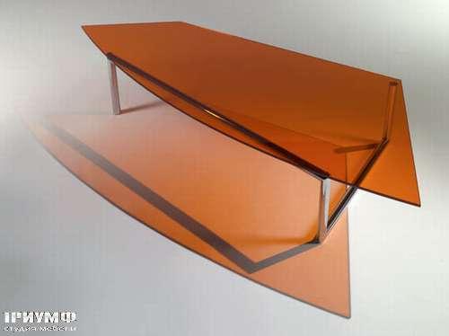 Итальянская мебель Reflex Angelo - Журнальный стол трапецивидный Mai Piu HR