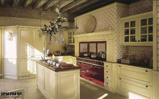 Итальянская мебель Brummel cucine - кухня Grand-Gourmet