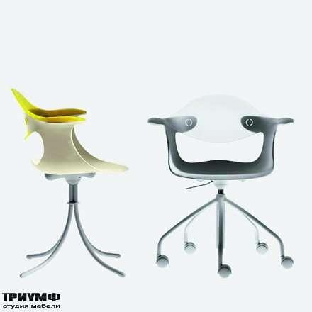 Итальянская мебель Driade - Кресло на колесах Spin
