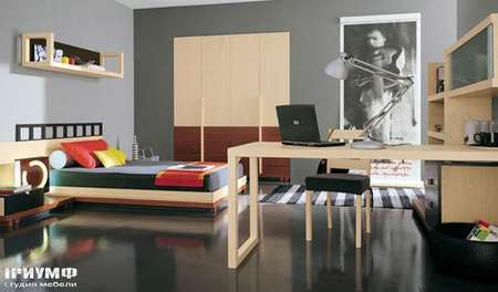 Итальянская мебель Julia - Комната для ребёнка, модель oasis color