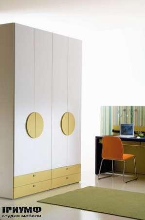 Итальянская мебель Di Liddo & Perego - Шкаф с ящиками и ручками Visual с изображением stampa Topolino