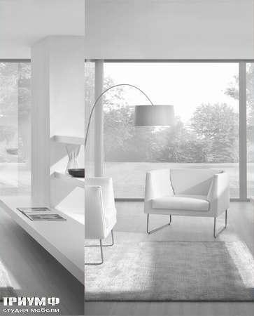 Итальянская мебель CTS Salotti - Кресло на металлический лыжах, Flyparty