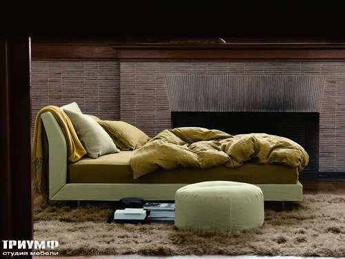 Итальянская мебель Ivano Redaelli - Кровать Soft в ткани