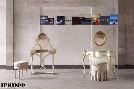 Итальянская мебель Volpi - туалетный стол Norma и Tea с зеркалом