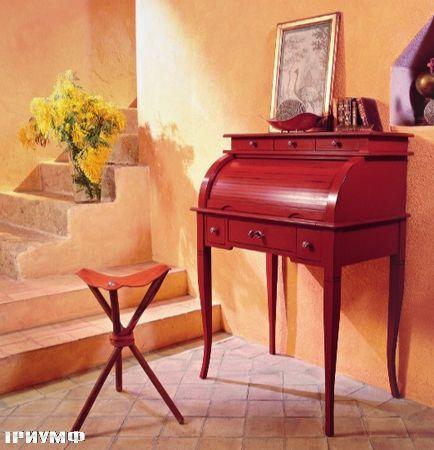 Итальянская мебель Tonin casa - секретер на ножках, массив дерева