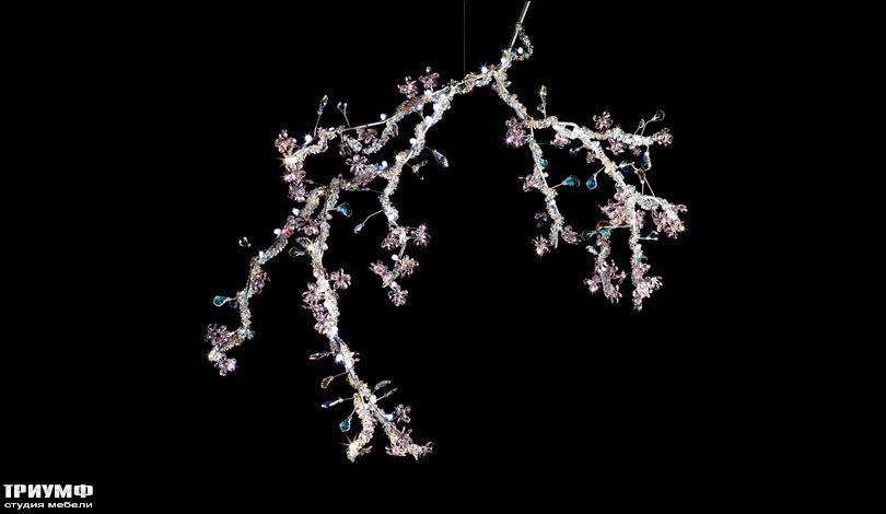 Освещение из Австрии Swarovski - blossom