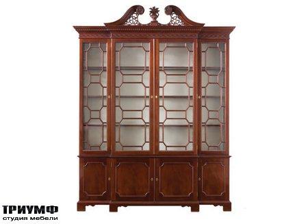 Американская мебель Kindel - Breakfront Display Cabinet