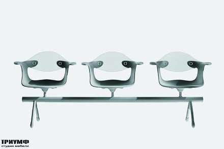 Итальянская мебель Driade - Скамейка с сидениями Waterlilies