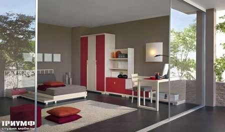 Итальянская мебель Julia - Детская современная мебель, Oasis color