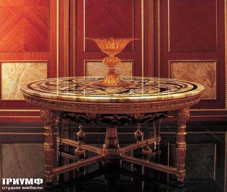 Итальянская мебель Jumbo Collection - Стол инкрустированный мрамор коллекция  Splendord