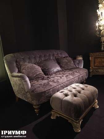 Итальянская мебель Jumbo Collection - Диван OPERA 52 пуф OPERA 78