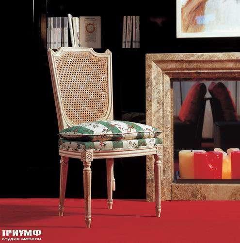 Итальянская мебель Salda - Стул с плетеной спинкой COD - 8448