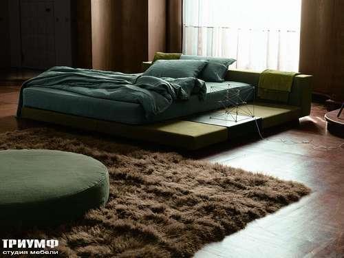 Итальянская мебель Ivano Redaelli - Кровать в японском стиле
