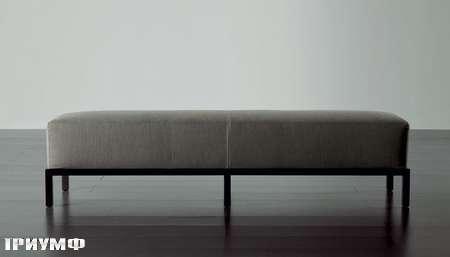 Итальянская мебель Meridiani - банкетка мягкая BERRY
