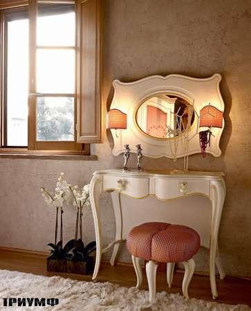 Итальянская мебель Volpi - туалетный стол Giulietta