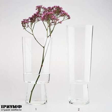 Итальянская мебель Driade - Вазы из прозрачного стекла