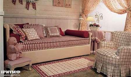 Итальянская мебель Halley - Medison кровать со спинкой