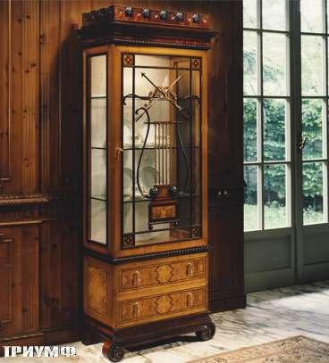 Итальянская мебель Colombo Mobili - Витрина в английском стиле арт.266 кол. Pergolesi