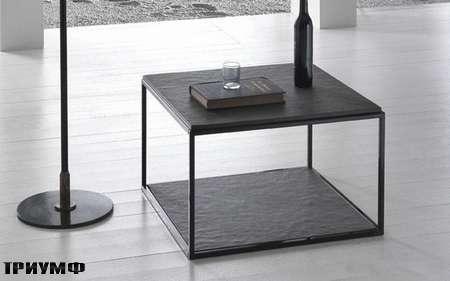 Итальянская мебель Presotto - столик Eolo в камне