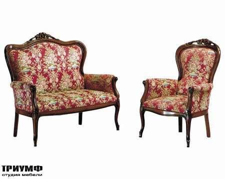 Итальянская мебель Interstyle - Moisson кресло
