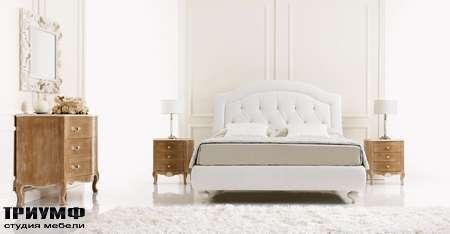 Итальянская мебель Tosconova - letto bastiglia fronte